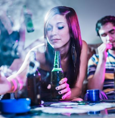 Teen Drug Use Tied to Lack of Sleep